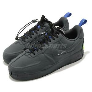 Nike Air Force 1 Experimental Black Blue Yellow Men Casual Sneakers CV1754-001