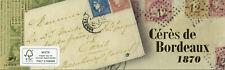More details for france stamps 2020 mnh ceres de bordeaux 1870 14v booklet
