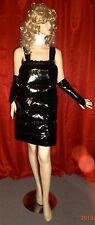 Lackdaunenkleid, Minikleid,Daunenkleid, Vinyldress with Downs,Downdress,Vinyl