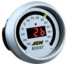AEM 30-4408 Boost Pressure Gauge -30 ~ 50PSI