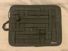 """Cocoon CPG10BK GRID-IT! Travel Accessory Organizer - Medium 12"""" x 8"""" (Black)"""