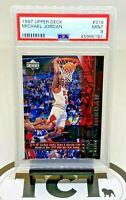 1997-98 Upper Deck NBA Basketball Michael Jordan PSA 9 MT Chicago Bulls