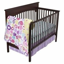Sumersault Jenny 10pc Nursery Crib Bedding Set for Girl Pink *NEW Fast FREE Ship