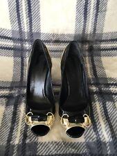 Gucci Shoes Black Gold HorseBit 8. 38