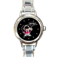 New MAFALDA for Woman Round Italian Charm WATCH FREE shipping
