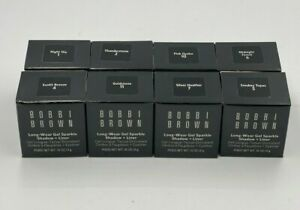Bobbi Brown Long Wear Gel Sparkle Shadow + Eye Liner Full Size (New With Box)