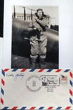 Viola Gentry Noted Aviation Pioneer & Record Setting Pilot Signed Autograph