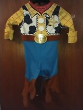 DISNEY BABY WOODY INFANT DRESS UP PARTY SIZE 12-18 MONTHS HALLOWEEN