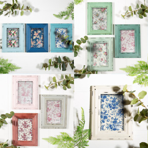 Sass & Belle Natural Wood Single Photo Picture Delilah Frames Home Gift SET OF 3