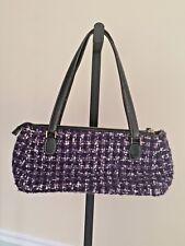 Kate Spade Purple Tweed Small Shoulder Bag