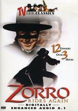 Zorro Rides Again [New DVD] Black & White