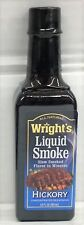 Wright's Hickory Seasoning Liquid Smoke 3.5 oz Wrights