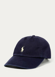 Polo Ralph Lauren Cotton Chino Baseball Adjustable buckled strap Cap (all color)