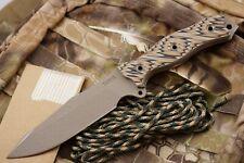Busse Combat Flak Jack Knife -INFI Steel -Multi-Color G10 Handle