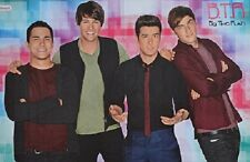BIG TIME RUSH - A3 Poster (ca. 42 x 28 cm) - Kendall Clippings Fan Sammlung NEU