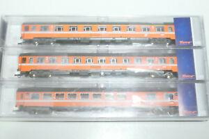 Roco HO ÖBB 3teiliges Set Transalpin Set 1 orange 64095 NEU OVP