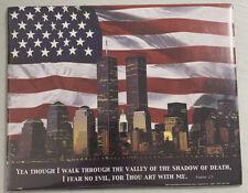 Wall Art 8 x 10 2001 New York City Skyline American Flag Twin Towers
