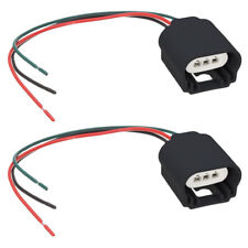 2 pack H13 9008 Headlight Pigtail Wiring Harness Female Socket Connector Adapter