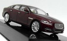 Ixo 1/43 Scale - Jaguar XJ Caviar Burgundy - Diecast Model Car