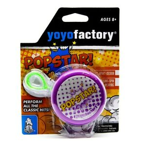 "Yo-Yo ""Popstar"" Purple-Green"