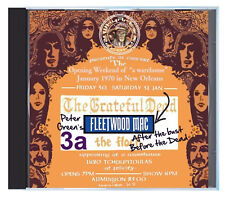 PETER GREEN'S FLEETWOOD MAC, the night after the bust, NOLA, Jan 31 1970, on CD