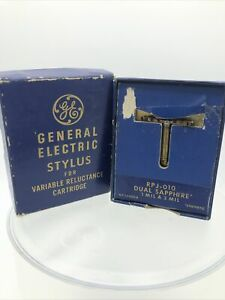 GE General Electric Stylus for Variable Reluctance Cartridge RPJ-010 Free Ship!