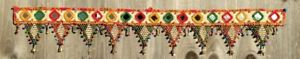 Indian Handicrafts Vintage Ethnic Traditional Toran Door valance Window Toppers