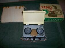 SANDY J-4939 Portable Reel to Reel Tape Player/Recorder Japan Mint in the BOX!