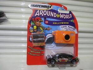 MATCHBOX AROUND The WORLD Black HOLLYWOOD LIMOUSINE New in New Bubble pack