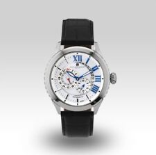Charles- Hubert Grand Master Silver Date Calander/24hr Automatic Watch $390