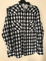 Mens F&F Casual Checked Flannel Brushed Cotton Lumberjack Long Sleeve Shirt 2XL