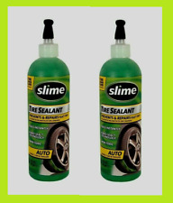 2 - SLIME TIRE SEALANT 16 oz Prevents & Repairs Flat Tires Seals Instantly 10011