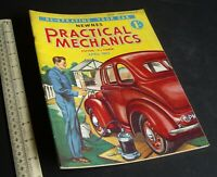 Practical Mechanics Mag. Sand-Yacht, Periscopes, Electric Guitar April 1953