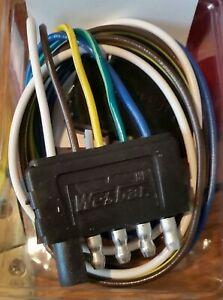 Westbar  5 way Flat Connector Car End P# 707255