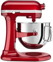 KitchenAid 7-Quart Pro Line Bowl-Lift Stand Mixer | Candy Apple Red
