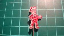 Flipje Rijno Tiel pin badge vintage lapel Dutch speldje plastic