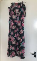 VINTAGE CHELSEA GIRL PATTERNED NAVY SWING DITSY DRESS SIZE 10