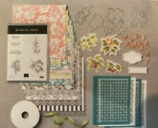 Stampin Up, Botanical Prints Product Medley, Stamps, Paper, Dies, Ribbon !!