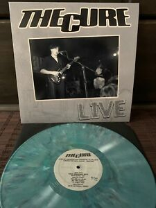The Cure LP Live In UK '79, New Wave Post Punk 12inch Colour Vinyl