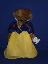 Vintage Annette Funicello Snow White Bear 15 inch Circa 1990s