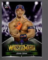 2018 TOPPS WWE Road to Wrestlemania 34 ROSTER #7  JOHN CENA