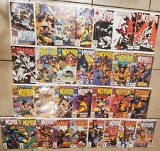 30 Bk Lot Of Wolverine #102-112 114-131 134 * Vs Sabretooth * Nice High Grades !