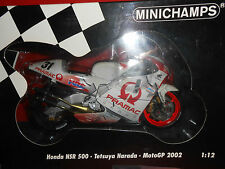 Maquette moto honda Harada minichamps au 1/12 éme