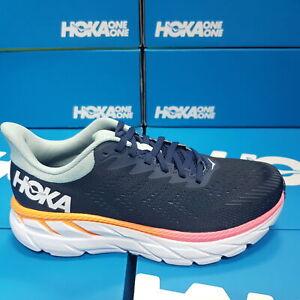 Hoka 1110509/BIBH CLIFTON 7-Black/Blue