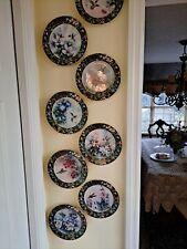 Lena Liu hummingbird treasury plates set of 8
