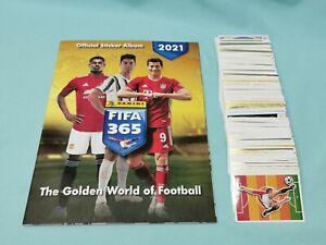 Panini Fifa 365 2021 Sticker Komplett Set alle 449 Sticker + Album