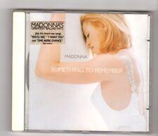 (HX371) Madonna, Something To Remember - 1995 CD