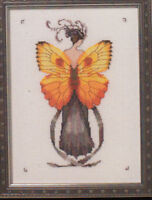 MD Mirabilia NC Miss Solar Elipse  cross stitch pattern NC239 Butterfly Misses