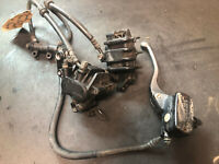 1989 Honda Pacific Coast PC800 PC FRONT BRAKE CALIPERS, LEVER, MASTER CYLINDER *