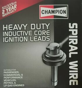 Champion Spark Plug Ignition Leads for Toyota Camry 2.0L SV21 3S-FE & SV22 3S-FC
